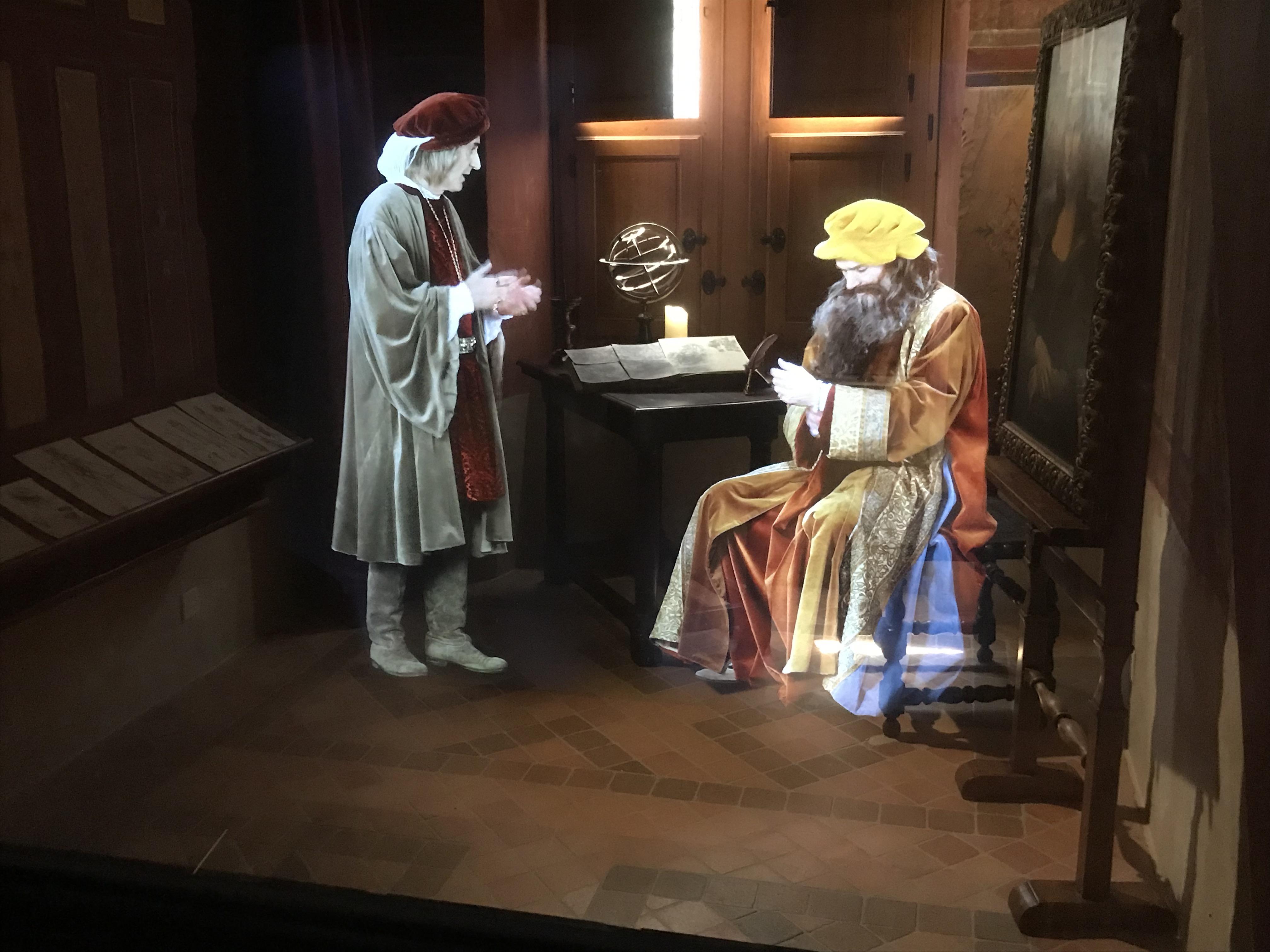 Stalking Leonardo da Vinci in France