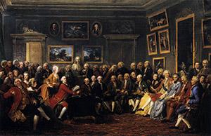 Anicet Charles Gabriel Lemonnier: In the Salon of Madame Geoffrin, 1755