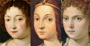 Isabella portrayed by Leonardo da Vinci