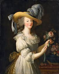 Portrait of Marie Antoinette as a milkmaid