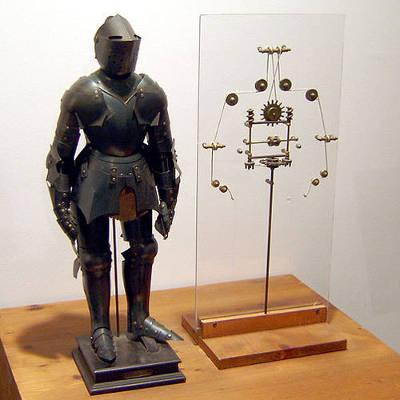 Leonardo da Vinci's Lion Robot
