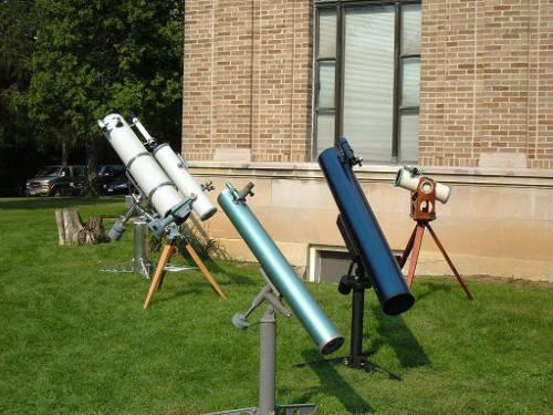 Newton's telescope